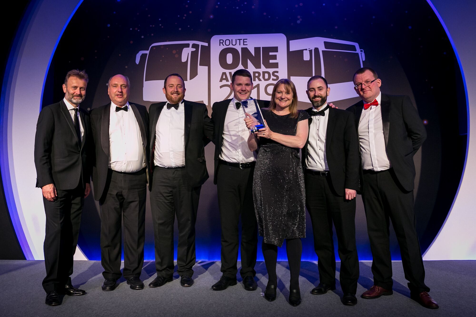 Warrington's Own Buses wins at Route One Awards 2019