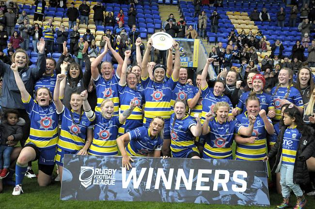 Warrington Wolves Women will be fighting for a Super League place in Saturday's Championship Final. Picture: Mike Boden