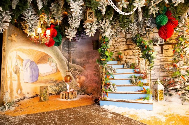 Meet Peter Rabbit at Trafford Centre's Christmas grotto