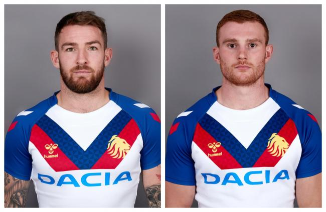Great Britain 2019 tourists Daryl Clark and Jack Hughes. Picture: SWPix.com