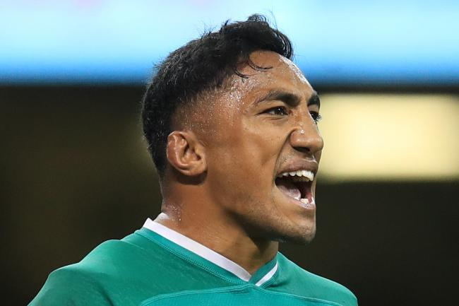 Bundee Aki, pictured, has been hailed for his role in Ireland's set-up