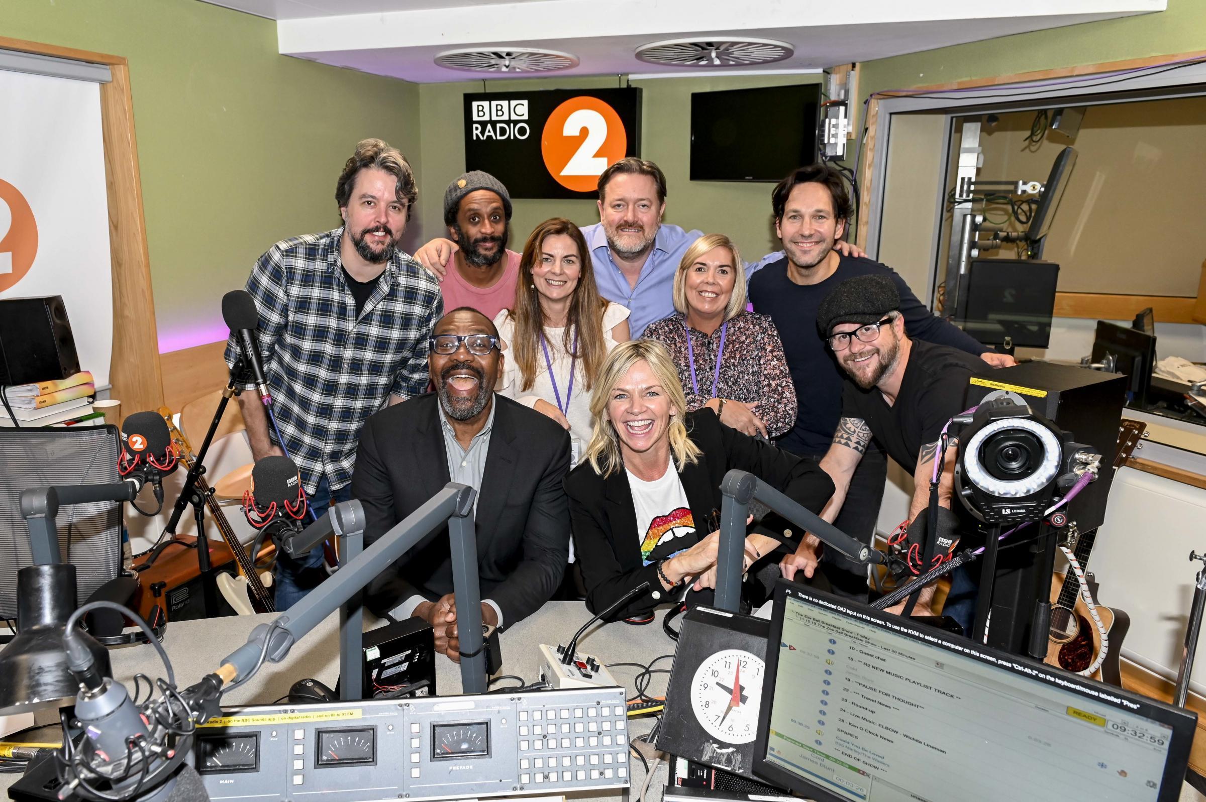 Warrington winner joins Zoe Ball on Radio 2 show