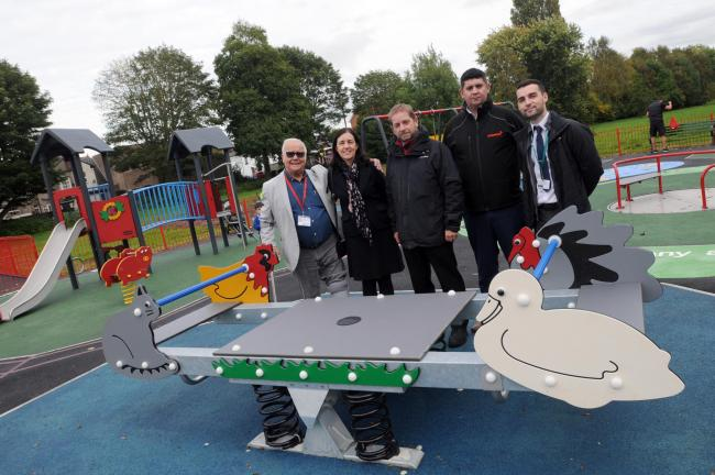 Causeway Park has reopened after a £120,000 refurbishment of its play equipment.