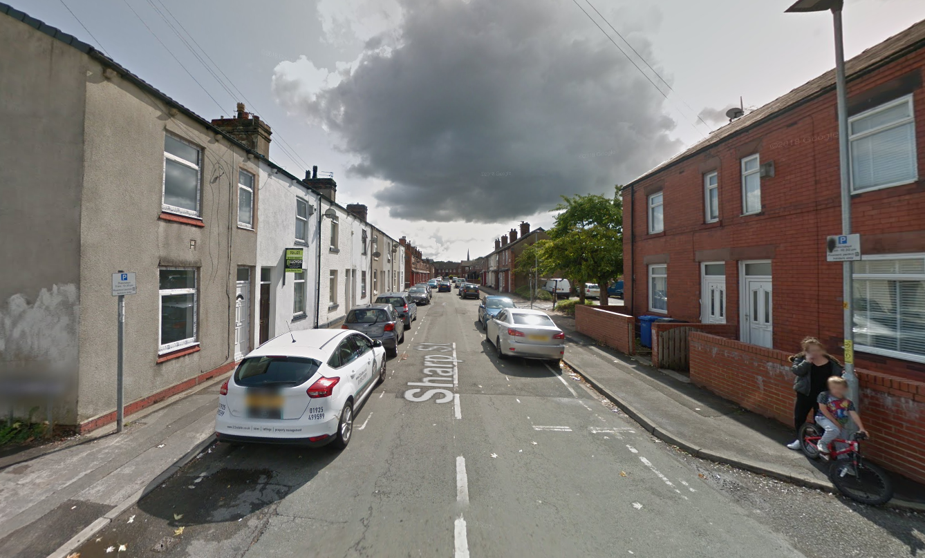 Woman is rescued from fire in flat on Sharp Street