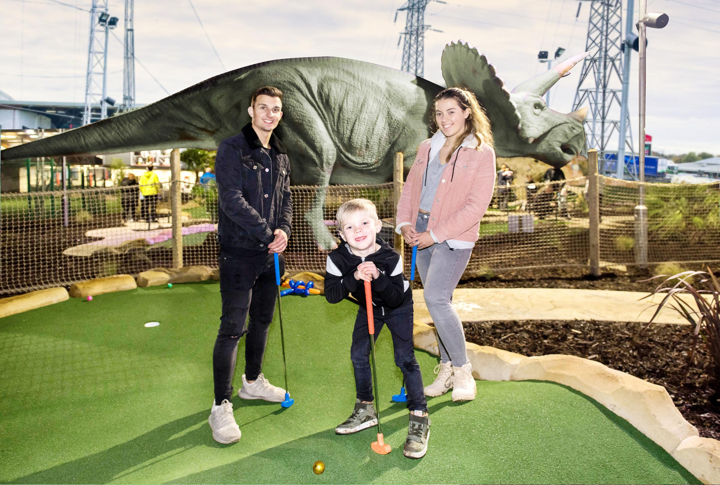 Kids can go free to Dino Falls this October half term