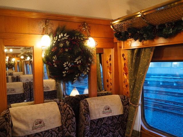 Warrington stop for Christmas lunch on Britain's poshest train