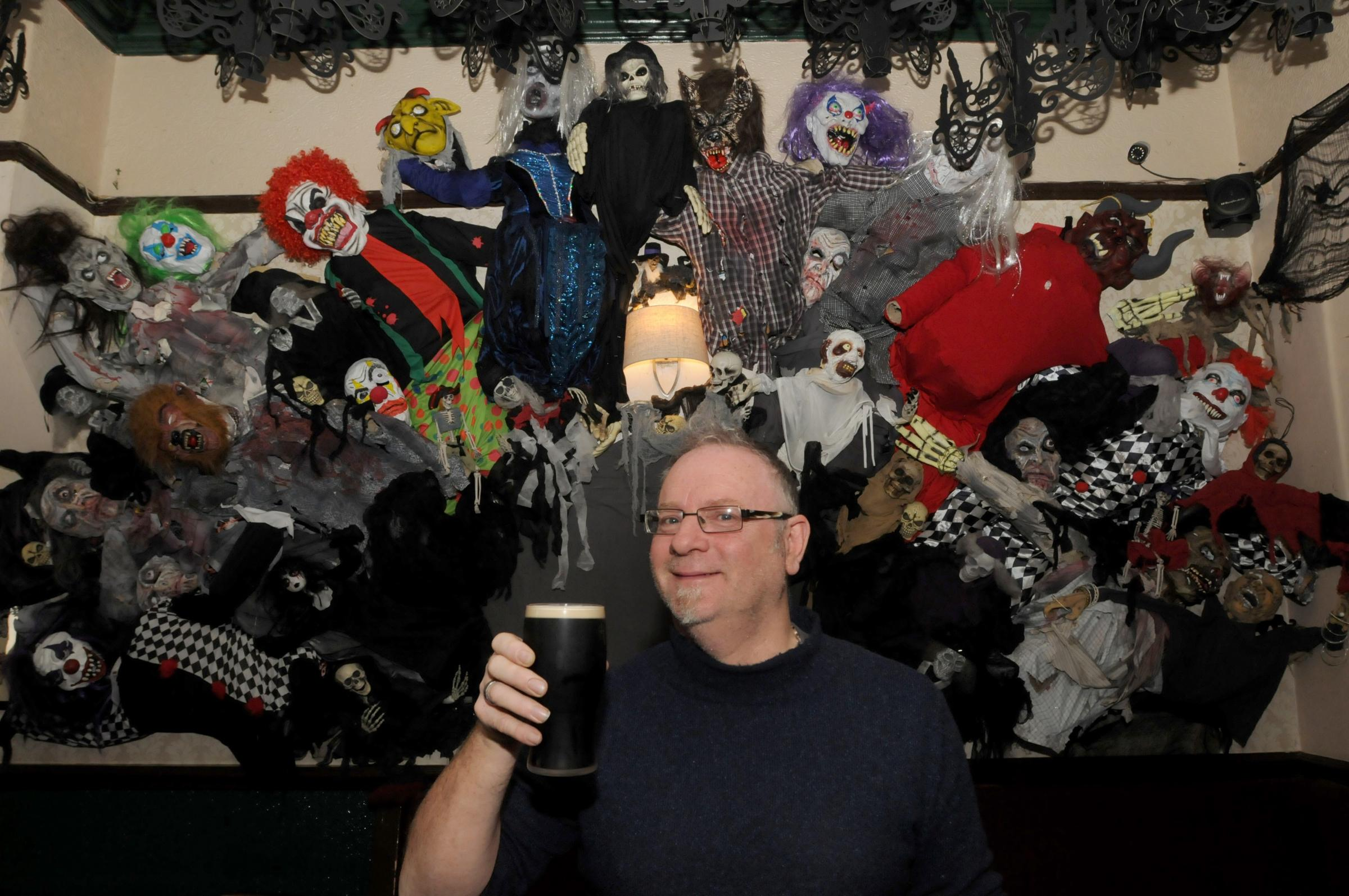 The Lower Angel pub is looking spooky for Halloween 2019