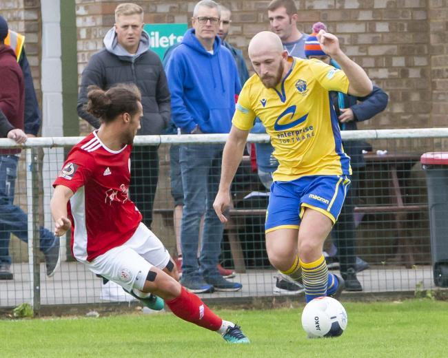 Matty Chadwick has left Warrington Town on loan. Picture by John Hopkins