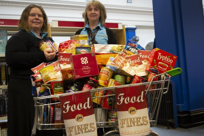 Libraries Swap Fines For Donations To Food Bank Warrington