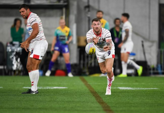 2019 RLWC9 Round 01 - England 9s v Wales 9s, Bankwest Stadium, 2019-10-18. Digital image by Nathan Hopkins © NRL Photos