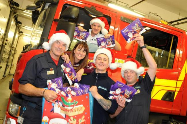 Warrington and Penketh Fire Stations have pledged their support to the CAFT Selection Box Appeal