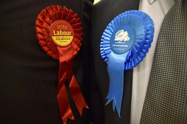 Polls predict wins for Conservatives and Labour in Warrington election