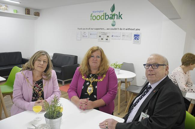 Foodbank Opens New Unit To Cope With Demand Warrington