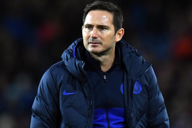 Frank Lampard was named Premier League manager of the month for October