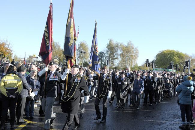 LETTER: 'Remembrance Sunday service was a fitting tribute to our dead'