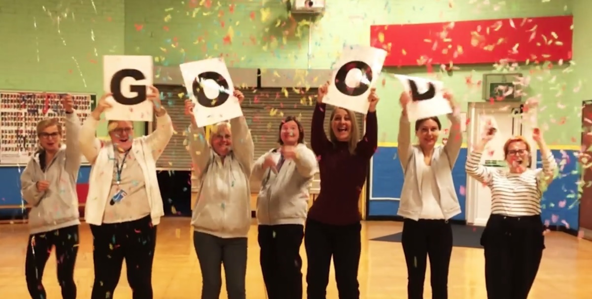 WATCH: Teachers release 'I feel good' music video to celebrate Ofsted report