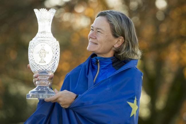 Catriona Matthew will captain Team Europe for a second time in 2021
