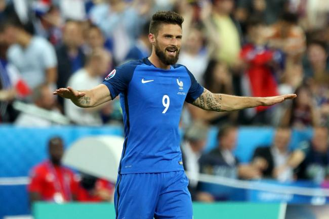Olivier Giroud scored France's winning goal from the penalty spot
