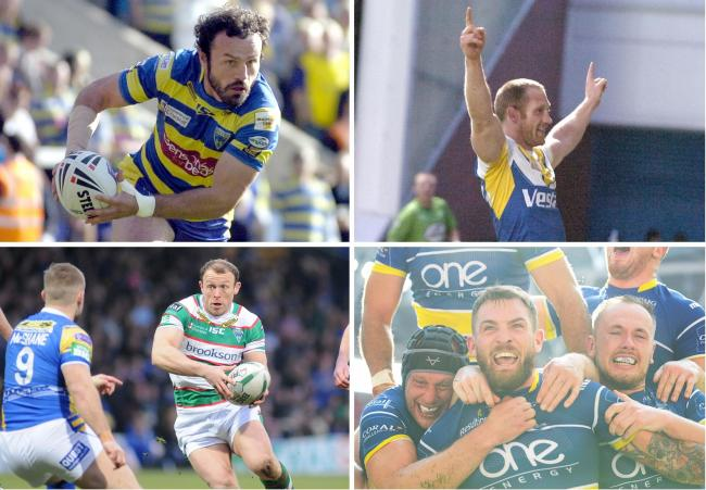 Will it be Jon Clarke, Michael Monaghan, Micky Higham or Daryl Clark who makes our team of the decade? Pictures by Mike Boden