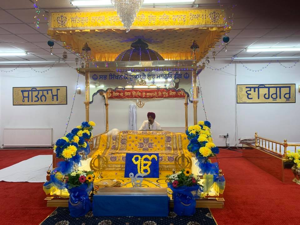 Special service held at town's Sikh temple