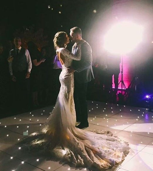 Wolves star Ben Currie shares beautiful wedding pictures