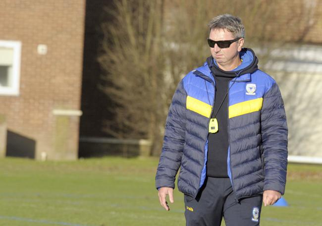 Steve Price will lead his squad on a 36-hour community challenge this week. Picture by Mike Boden