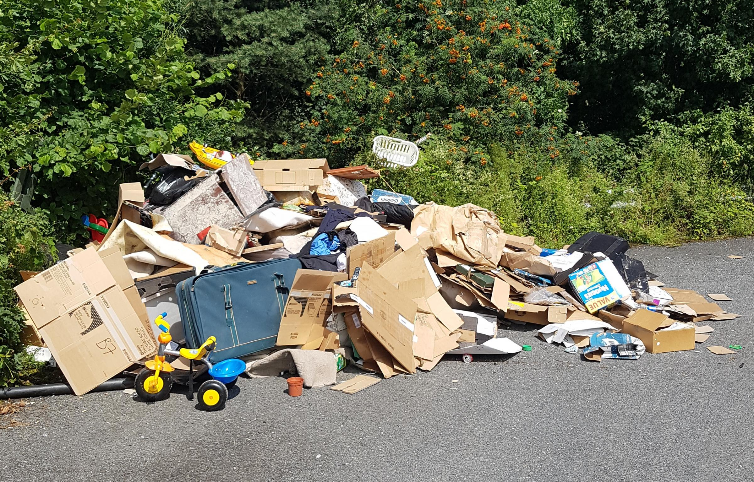 Fly-tipping couple advertised waste removals on Facebook