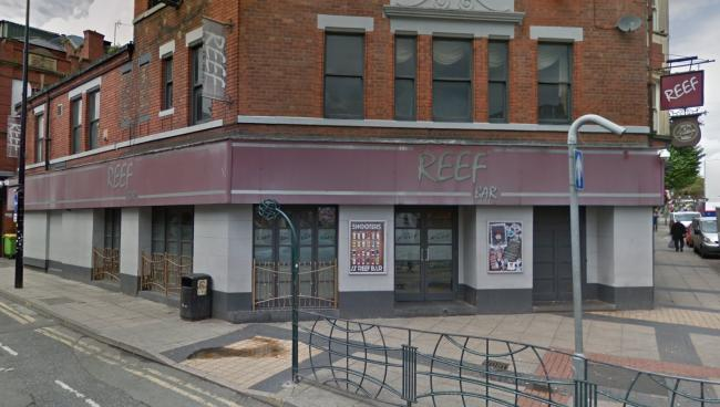 Scott Brogan attacked his victim outside Reef bar on Bridge Street. Picture by Google Maps.
