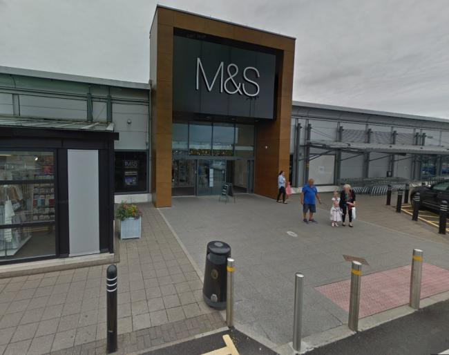 Daniel Healey took more than £2,000 of goods from Marks and Spencer on Gemini Retail Park. Picture by Google Maps.