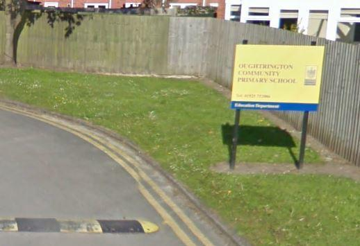 Oughtrington Community Primary GoogleMaps image