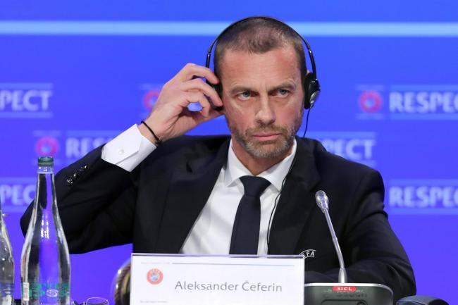 UEFA president Aleksander Ceferin says VAR needs to be speeded up and made clearer