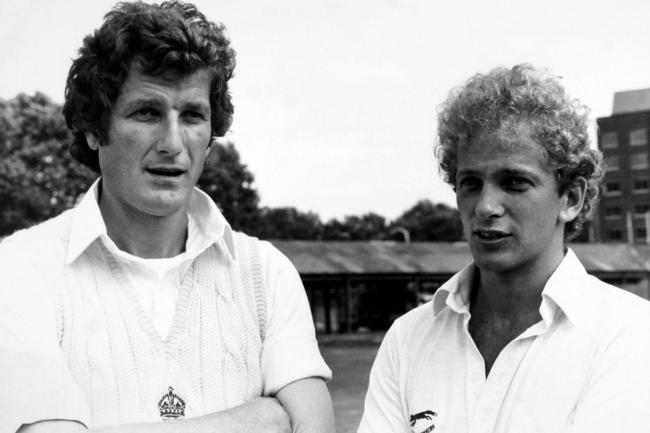 David Gower (right) was among those to pay tribute to Bob Willis (left) after his death aged 70