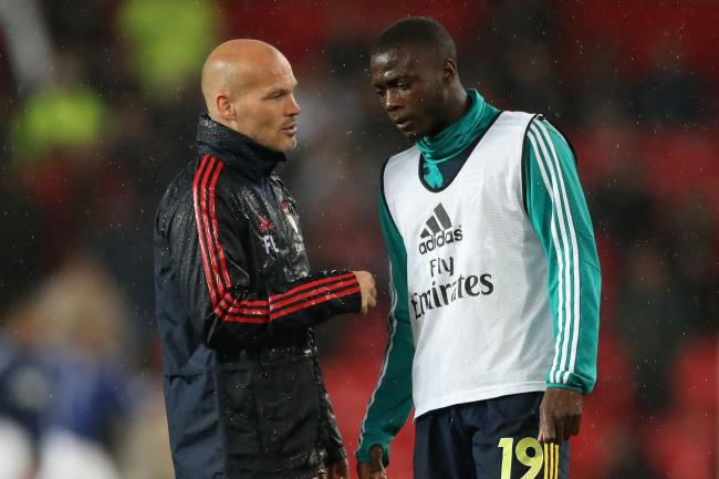 Freddie Ljungberg will have a chat with Nicolas Pepe