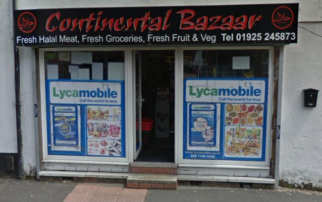 Continental Bazaar on Lovely Lane will become a dessert cafe under plans submitted to Warrington Borough Council. Picture by Google Maps.