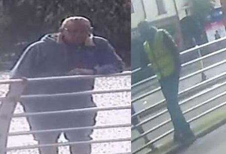 Cheshire Police are hoping to identify these two witnesses to a serious assault on Winwick Street in the town centre.