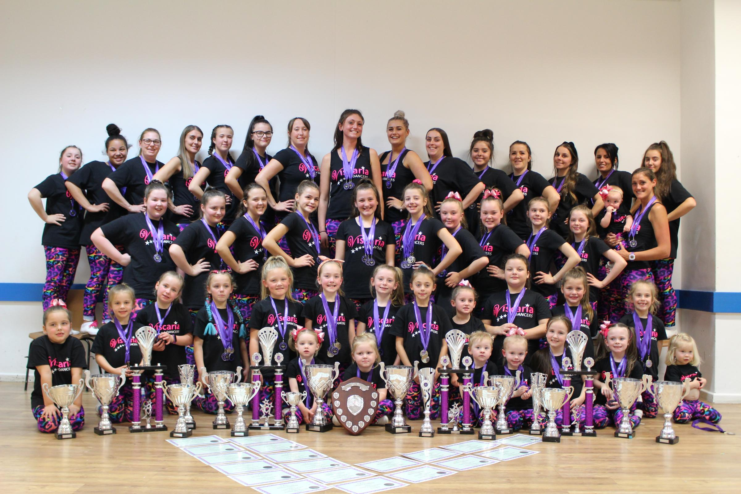 Viscaria dance troupe end competition season with 78 awards