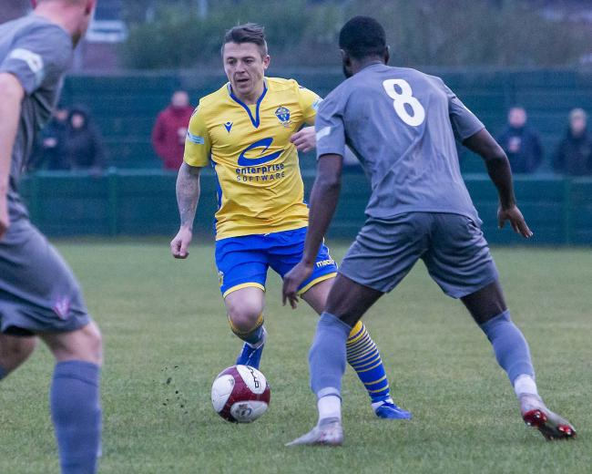 Midfielder Scott Brown is unlikely to be the last new addition to the Warrington Town ranks in the coming weeks. Picture by John Hopkins