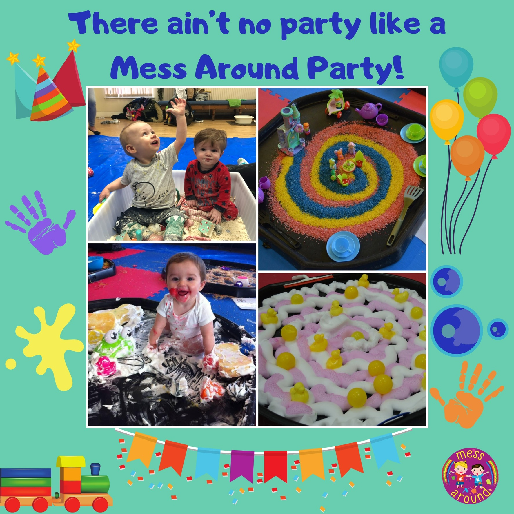 Messy Play Eastham - Mess Around Party