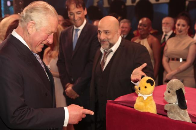 Sooty meets Prince Charles