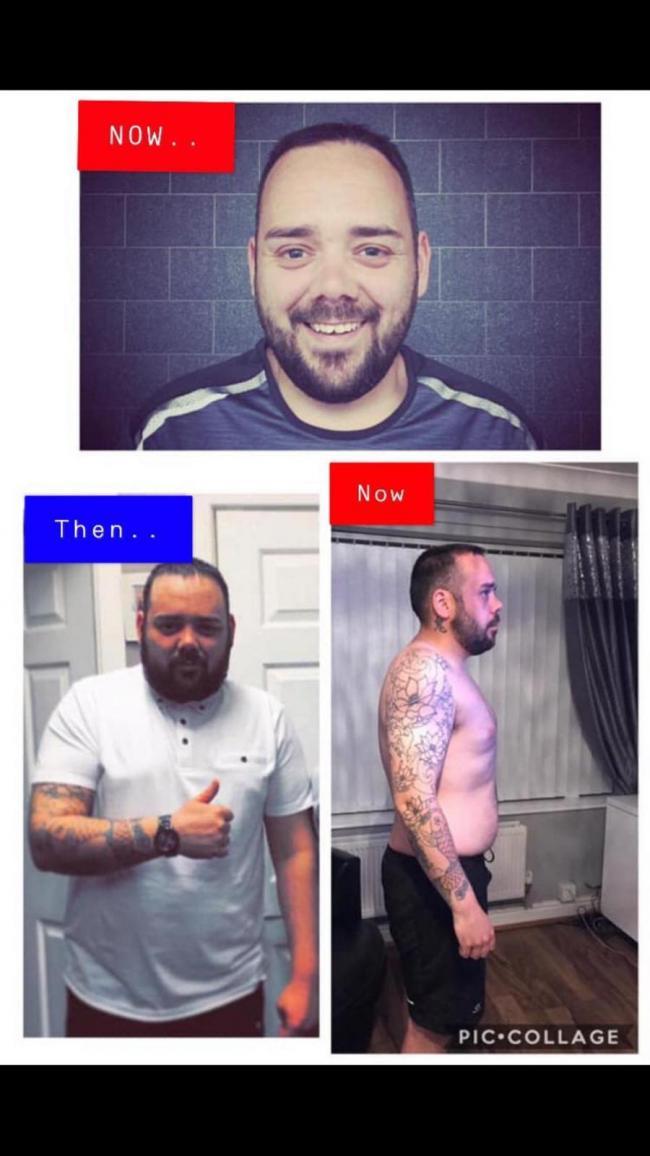Après avoir vu des photos de moi, j'ai finalement réalisé que j'étais en surpoids et j'ai promis de changer les choses. Le 2 janvier 2019, j'ai commencé à manger de meilleurs aliments et à manger au bon moment et avec modération. J'ai rejoint le gymnase et commencé à courir sur le tapis roulant, ce qui m'a aidé avec ma confiance et a commencé à courir à l'extérieur. Ensuite, j'ai couru pour la charité au Manchester 10k en mai 2019. Je fais toujours exactement la même chose maintenant et je n'ai pas regardé en arrière depuis. Il y a encore un long chemin à parcourir, mais si je peux le faire, vous le pouvez aussi.