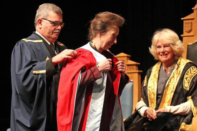 Princess Royal honorary degree