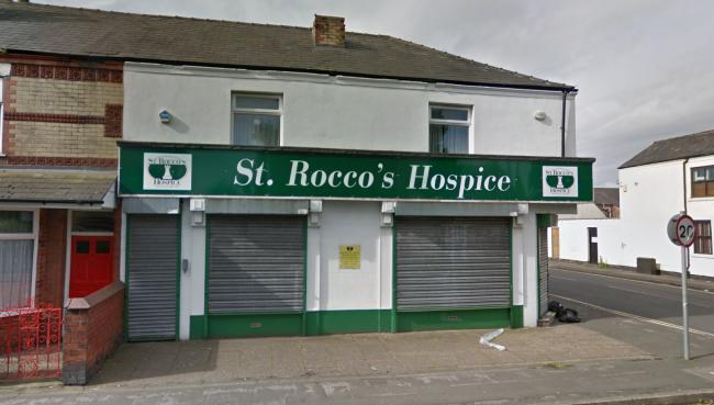 Burglars targeted the St Rocco's Hospice charity shop on Longford Street overnight on Friday. Picture by Google Maps.