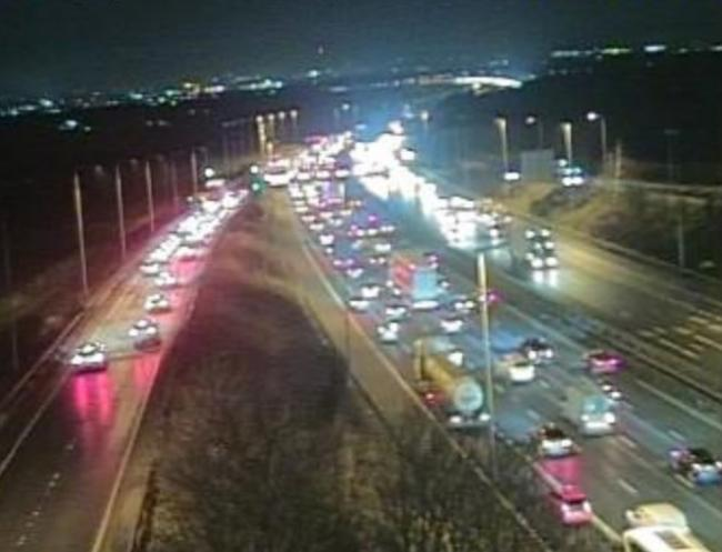 Delays on the Thelwall Viaduct