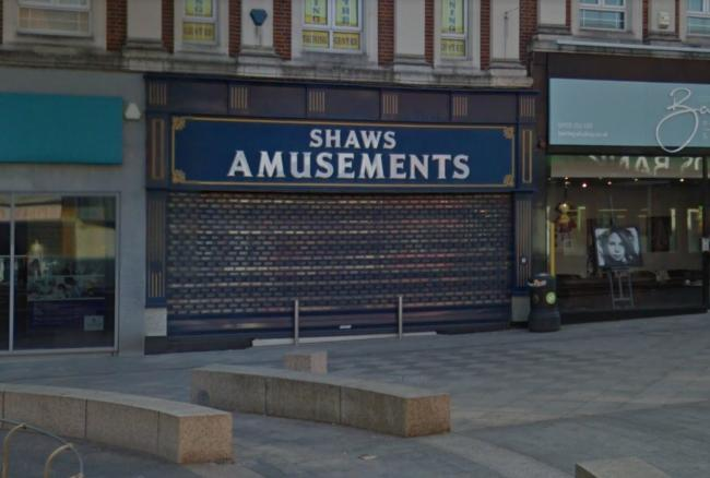 Police were called to Shaws Amusements on Horsemarket Street last night, Monday. Picture by Google Maps.