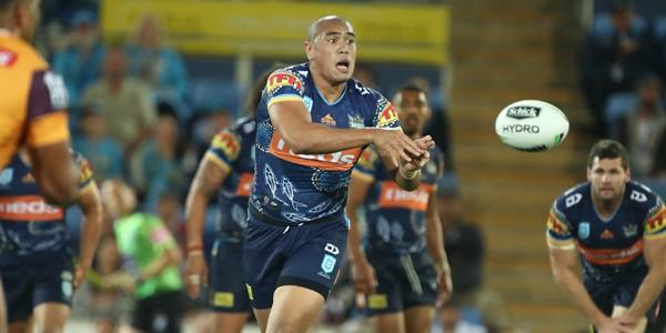 Leilani Latu. Picture by NRL Photos
