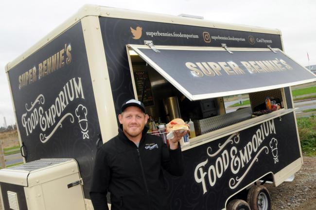 Warrington Wolves legend Ben Westwood has opened Super Bennie's Food Emporium