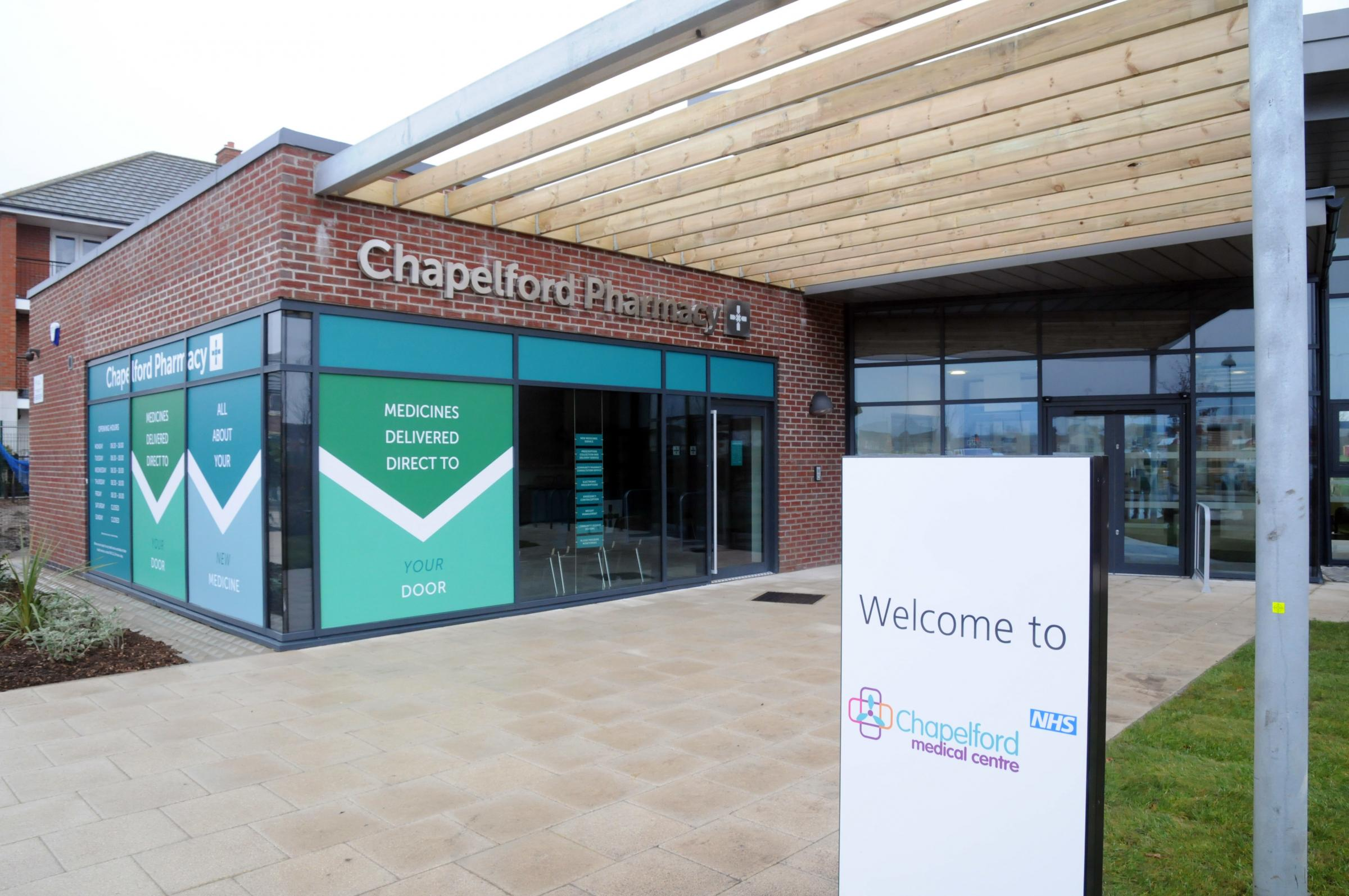 FIRST LOOK: Chapelford Medical Centre opens its doors to patients next week
