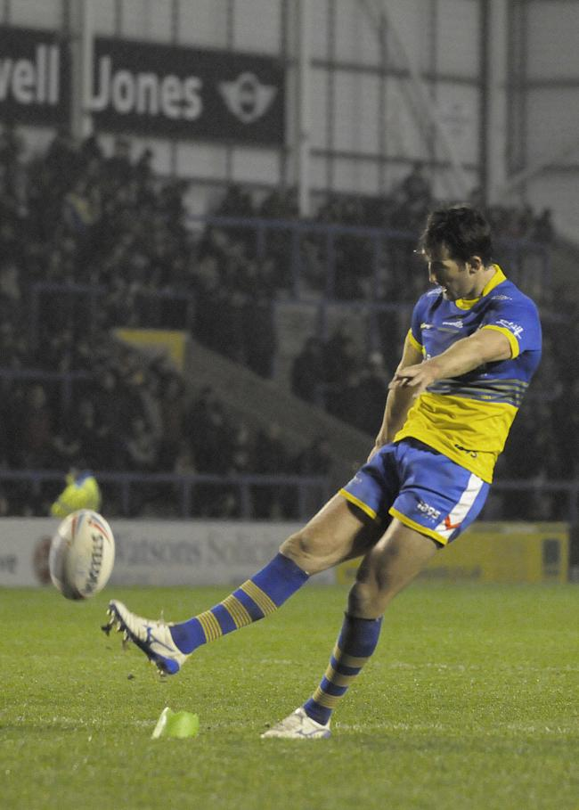 Stefan Ratchford kicked five goals against Salford. Picture by Mike Boden