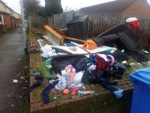 Fly-tippers warned actions will not be tolerated
