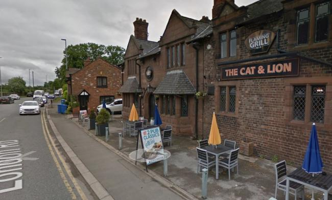 The Cat and Lion- Google Maps image